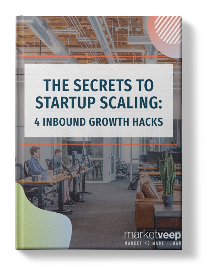Secrets to Startup eBook Mockup with Shadow