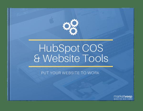 hubSpot COS and website tools